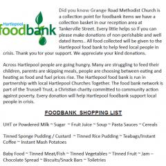 Foodbank Hartlepool